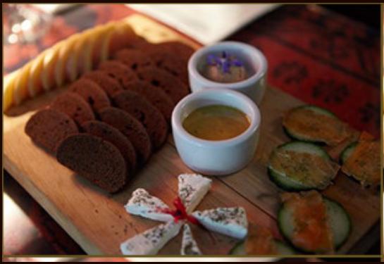 Larrupin platter, Larrupin Cafe